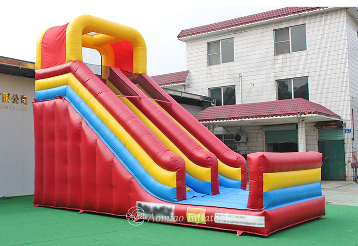 outdoor inflatable slide