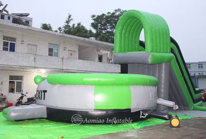 Inflatable Slide And Jumping Bag