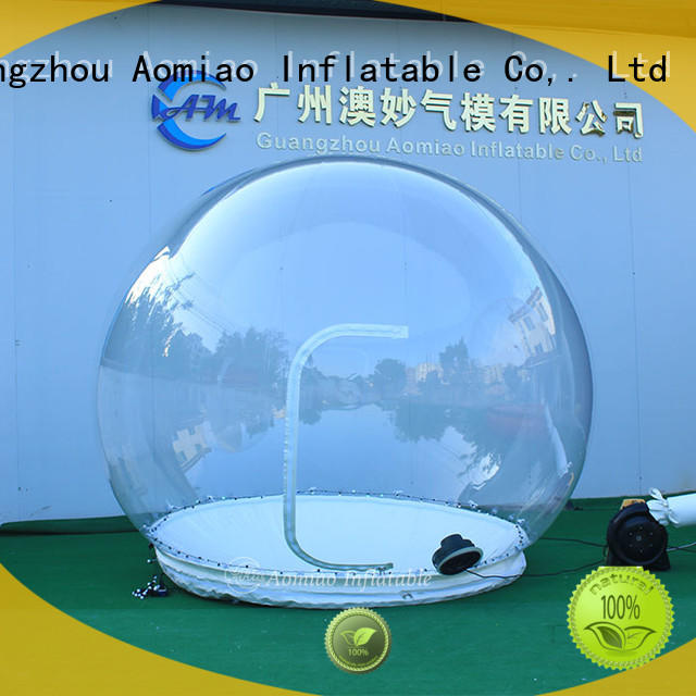 AOMIAO 2m3m4m5m Inflatable snow globe trader for Christmas