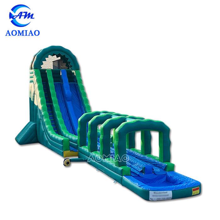 Hurricane Hulk Inflatable Water Slide