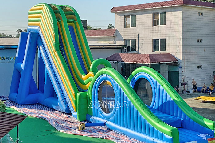 inflatable flying water slides