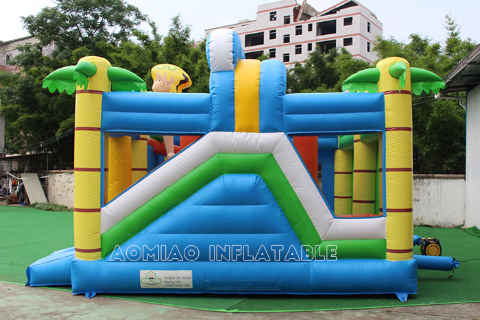 Surfing Bouncy Castle Combo