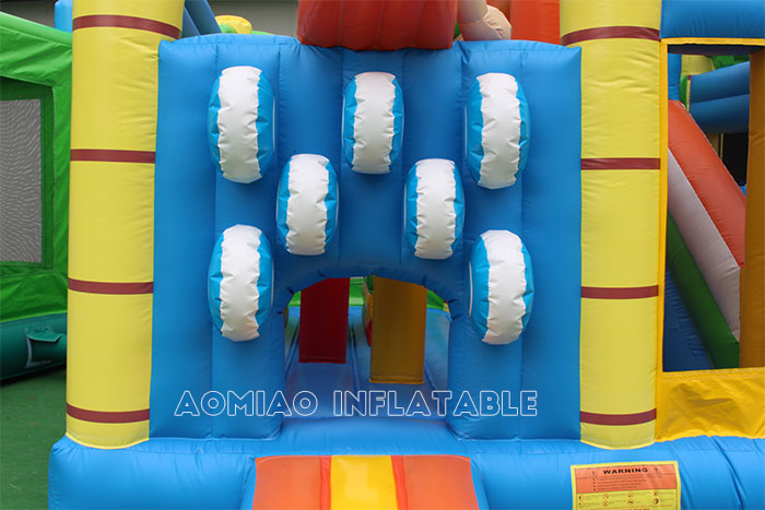 Surfing Bouncy Castle