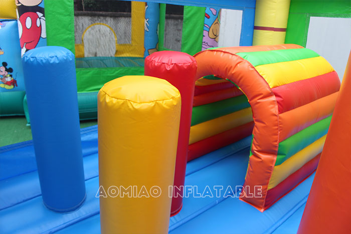 bounce house with slide for sale