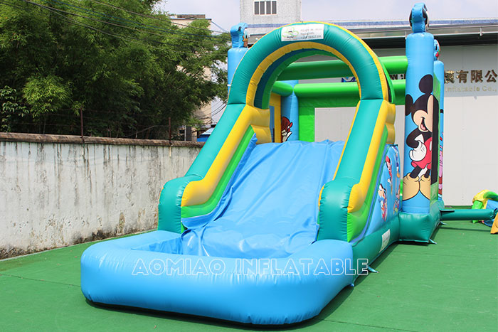Mickey Mouse Bouncy Castle And Pool