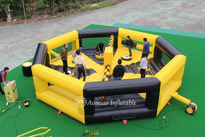 meltdown inflatable