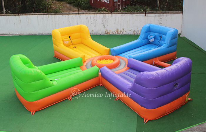 Hungry Hippo Inflatable game