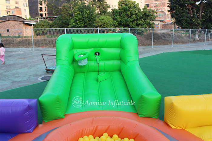 inflatable hungry hippo game