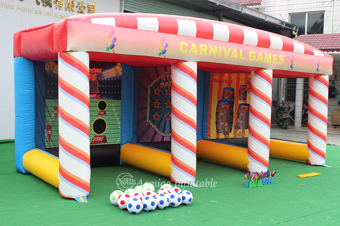 3 In A Row Carnival Games Inflatable for sale