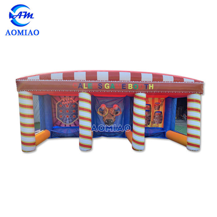 3 In One Inflatable Carnival Rings Game