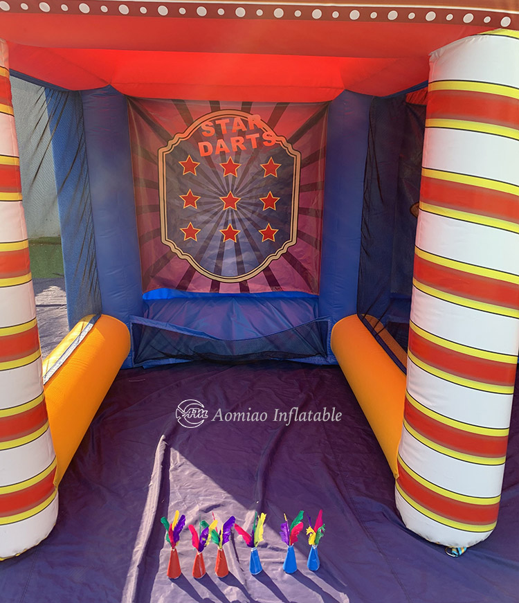 Inflatable Carnival Rings Game