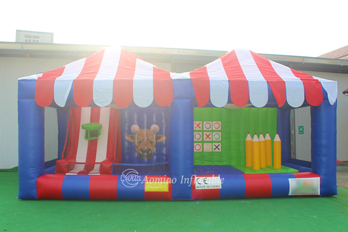 4 in One Inflatable Carnival Midway Games Booth
