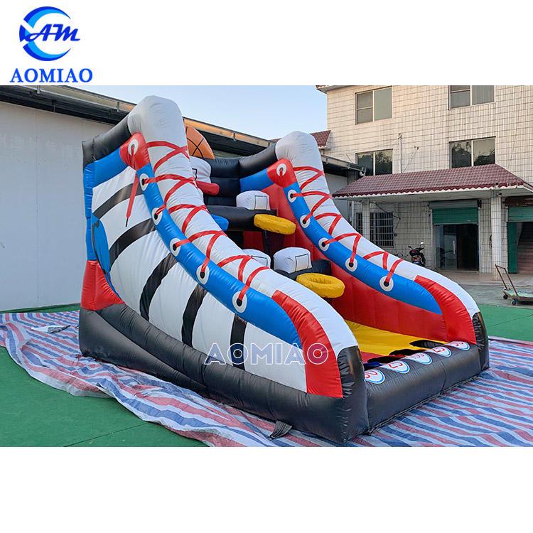 Inflatable Shoes Shooting Basketball Hoop Target