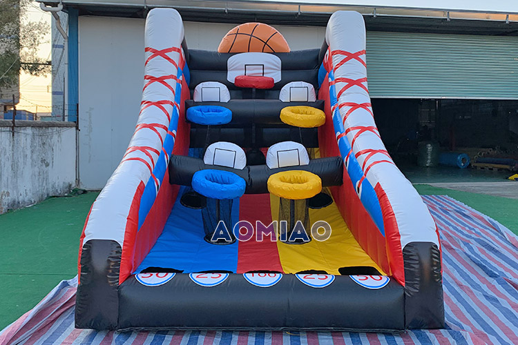 Inflatable Shooting Basketball Hoop