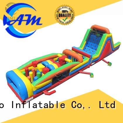 AOMIAO theme inflatable obstacle factory for parties