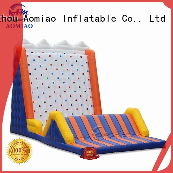 AOMIAO giant indoor rock climbing supplier for child