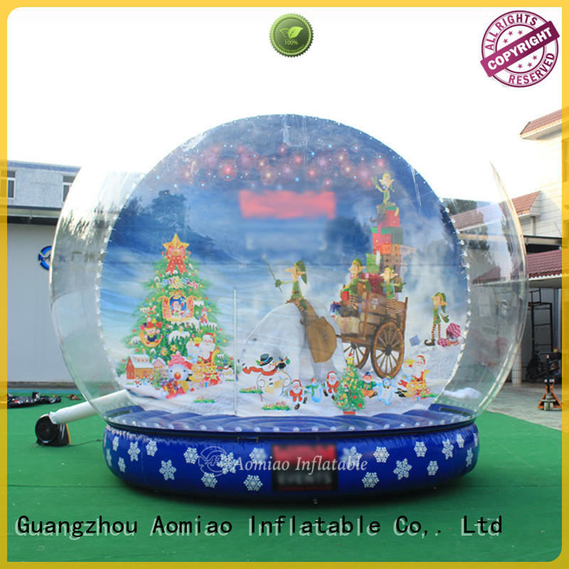 best quality Inflatable snow globe inflatables exporter for Christmas