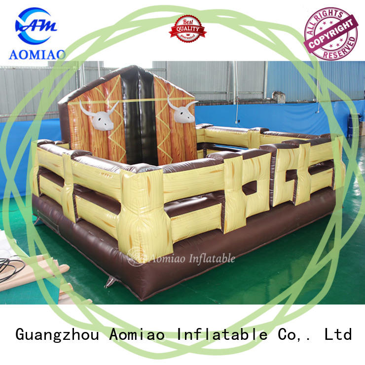 AOMIAO hot selling mechanical bull cost producer for sale