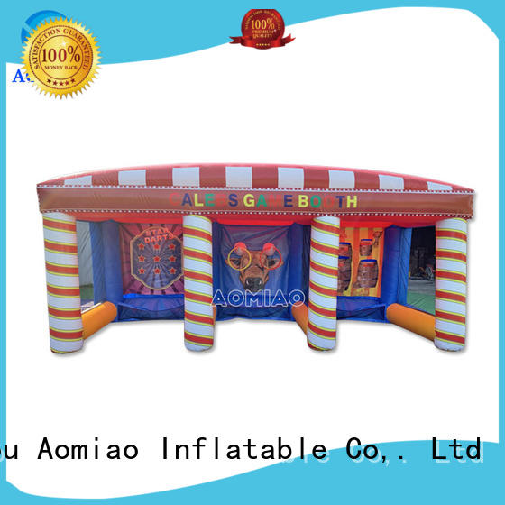 AOMIAO amazing meltdown bounce house customization for fun parks