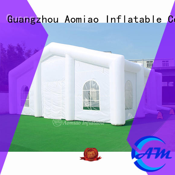 AOMIAO durable cheap inflatable tent manufacturer for outdoor