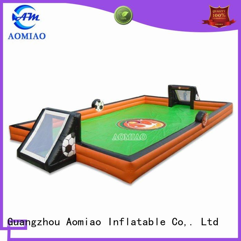 AOMIAO most popular inflatable sports field supplier for sale