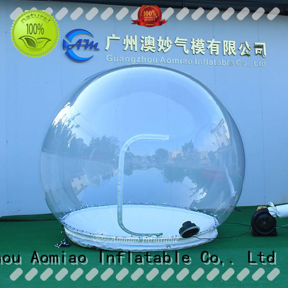 AOMIAO best quality Inflatable snow globe exporter for Christmas