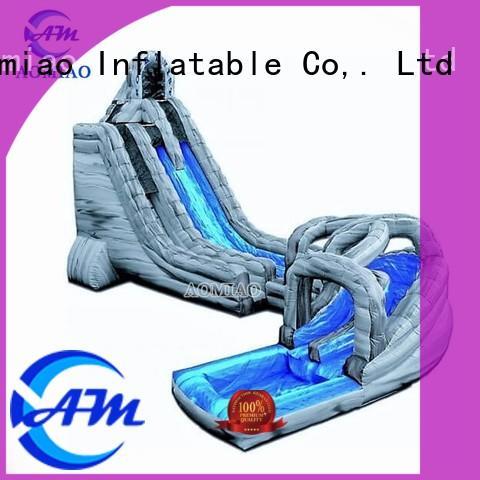 lane blue slide inflatable slide AOMIAO Brand company