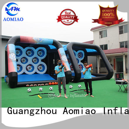 AOMIAO amazing outdoor water inflatables customization for theme park
