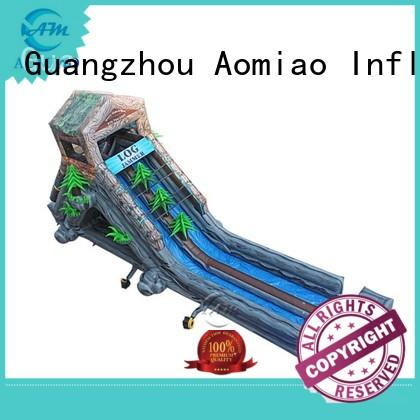 AOMIAO Brand water blue water slides for sale single