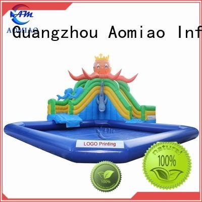 backyard inflatable slide cars AOMIAO company