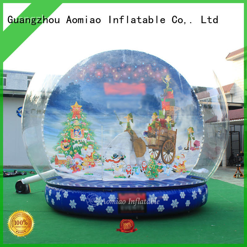 best quality Inflatable snow globe 5m trader for Christmas