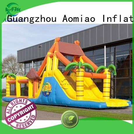AOMIAO new backyard obstacle course factory for youth