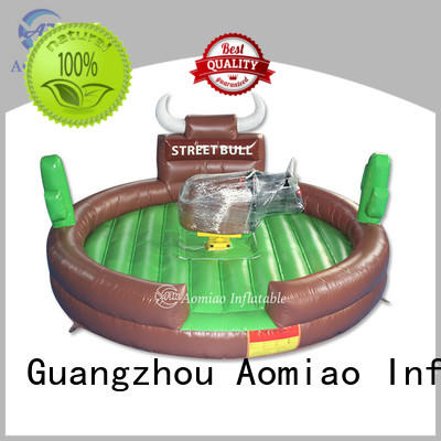 AOMIAO hot selling mechanical bull producer for sale