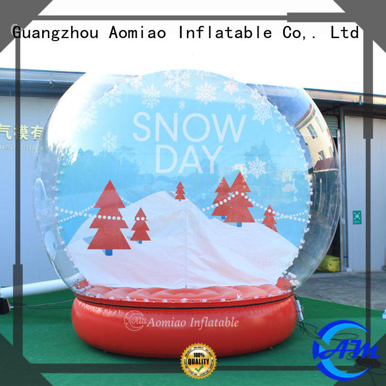 best quality Inflatable snow globe decorations trader for Christmas