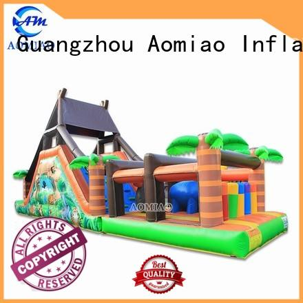 AOMIAO races inflatable obstacle factory for youth
