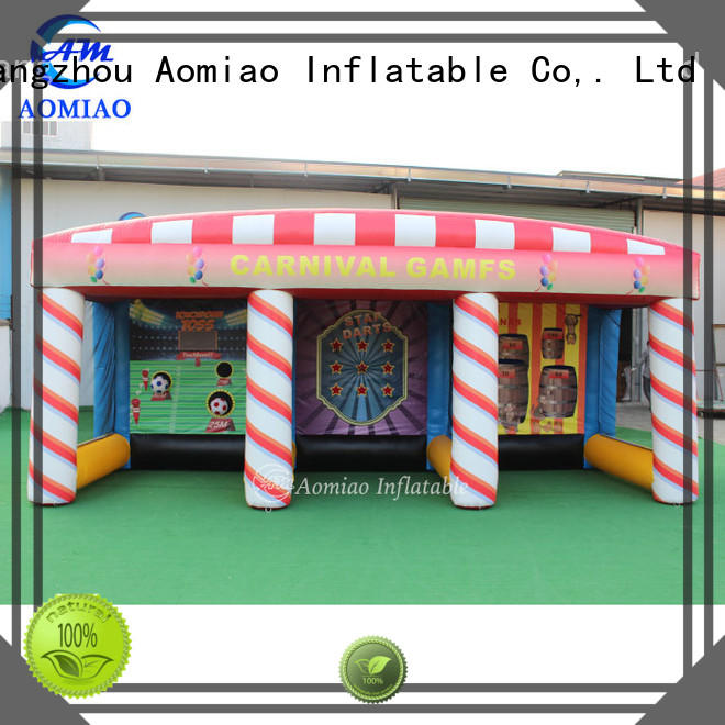AOMIAO 26ft inflatable meltdown customization for sport