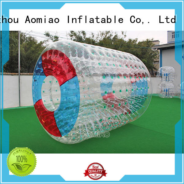 high standards water filled roller inflatable factory for park