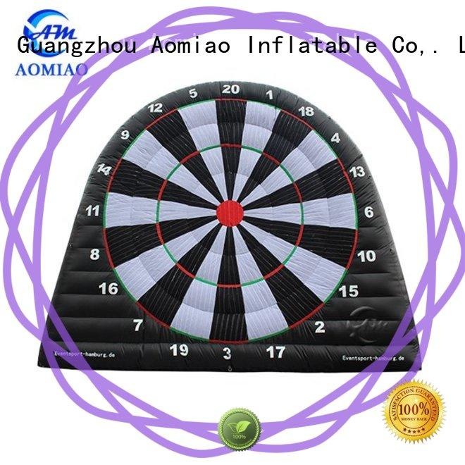 AOMIAO new inflatable foot darts factory for parties