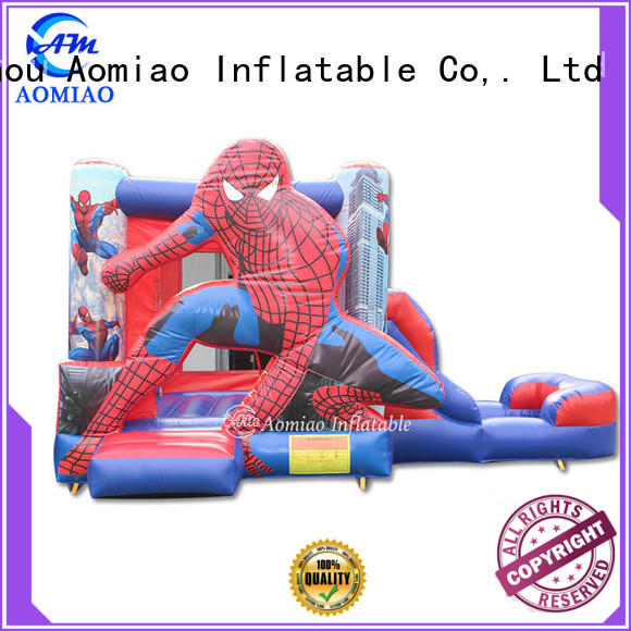 AOMIAO hot selling bouncy castle and slide factory for sale