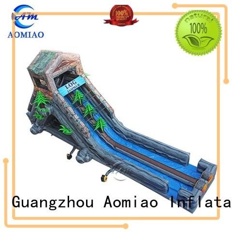 adult pool slides AOMIAO Brand water slides for sale manufacture