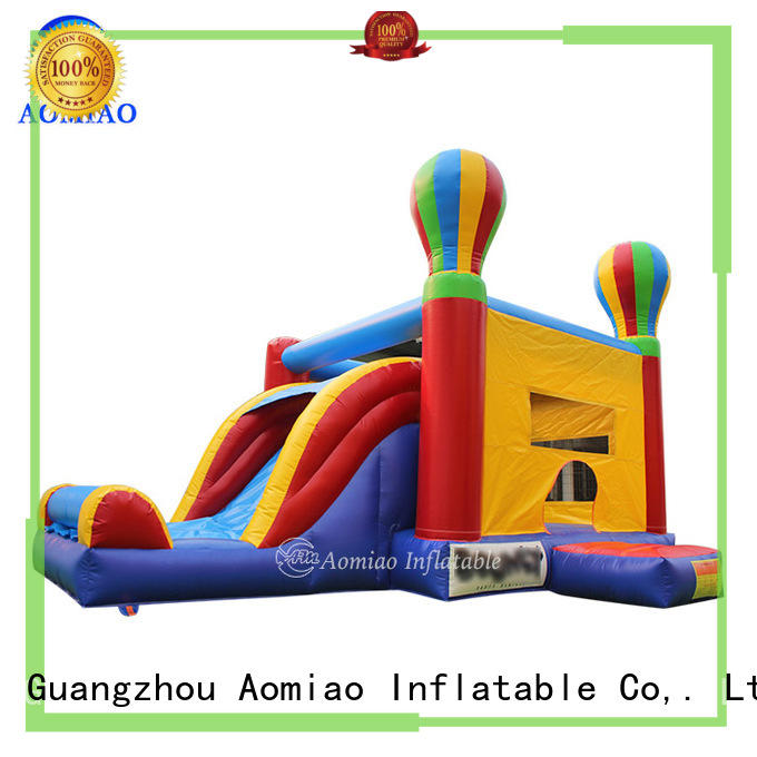 AOMIAO bo1764 inflatable bouncy slide exporter for sale