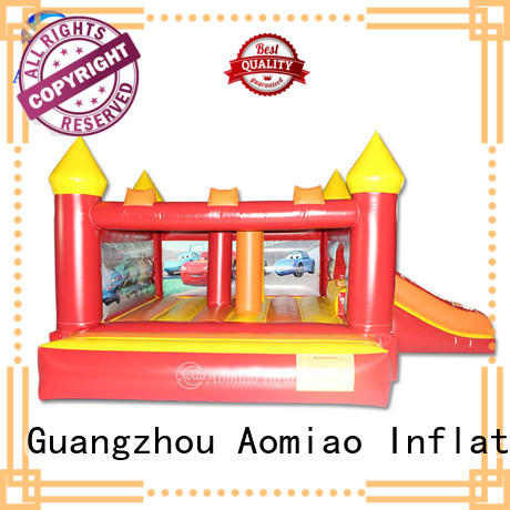 AOMIAO hot selling bouncy castle and slide exporter for sale