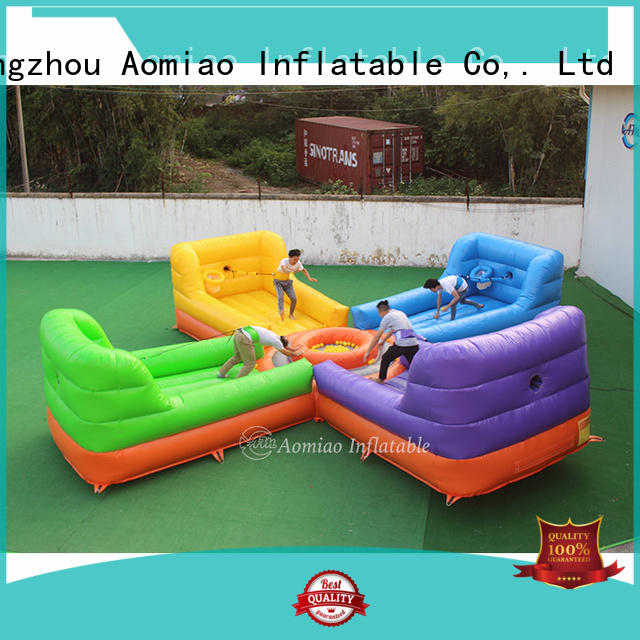 AOMIAO size meltdown bounce house customization for fun parks