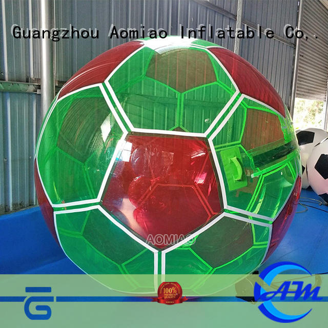 AOMIAO football water walking ball supplier for sale