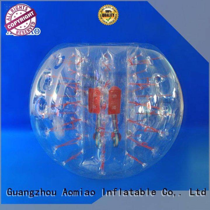 AOMIAO bsp5d bubble football factory for park