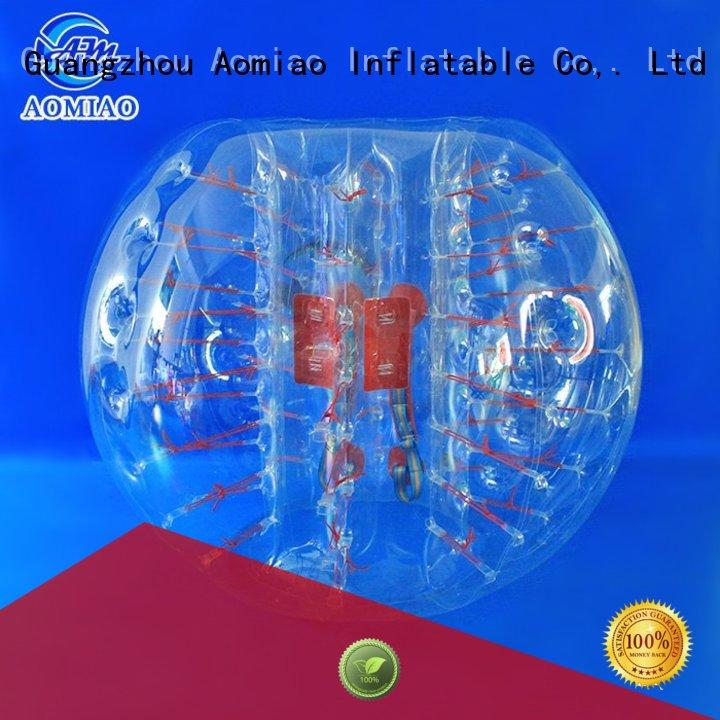 low MOQ bubble ball striped factory for park
