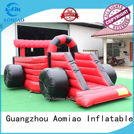 AOMIAO red bounce house manufacturer for outdoor