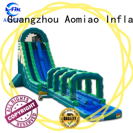AOMIAO new design commercial inflatable slide factory for sale