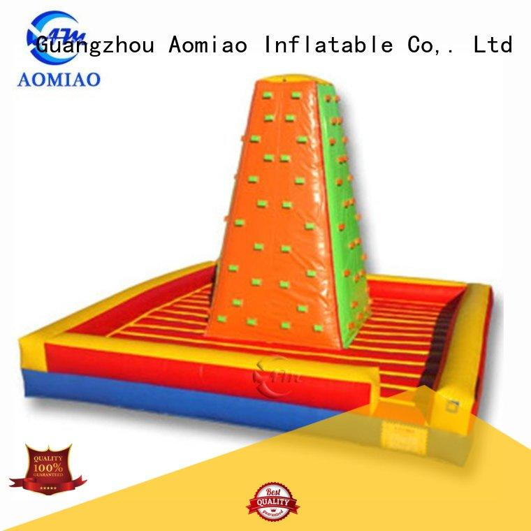 AOMIAO impressive inflatable rock wall factory for global market