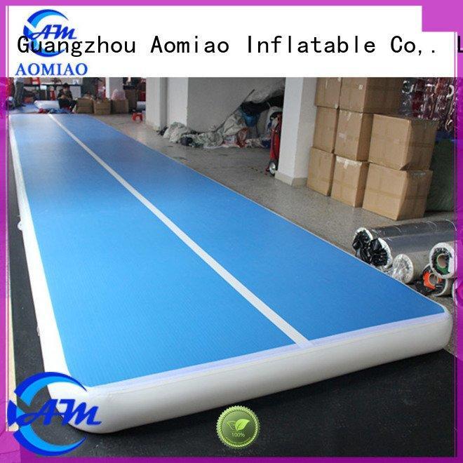 track inflatable sale AOMIAO gymnastics mats